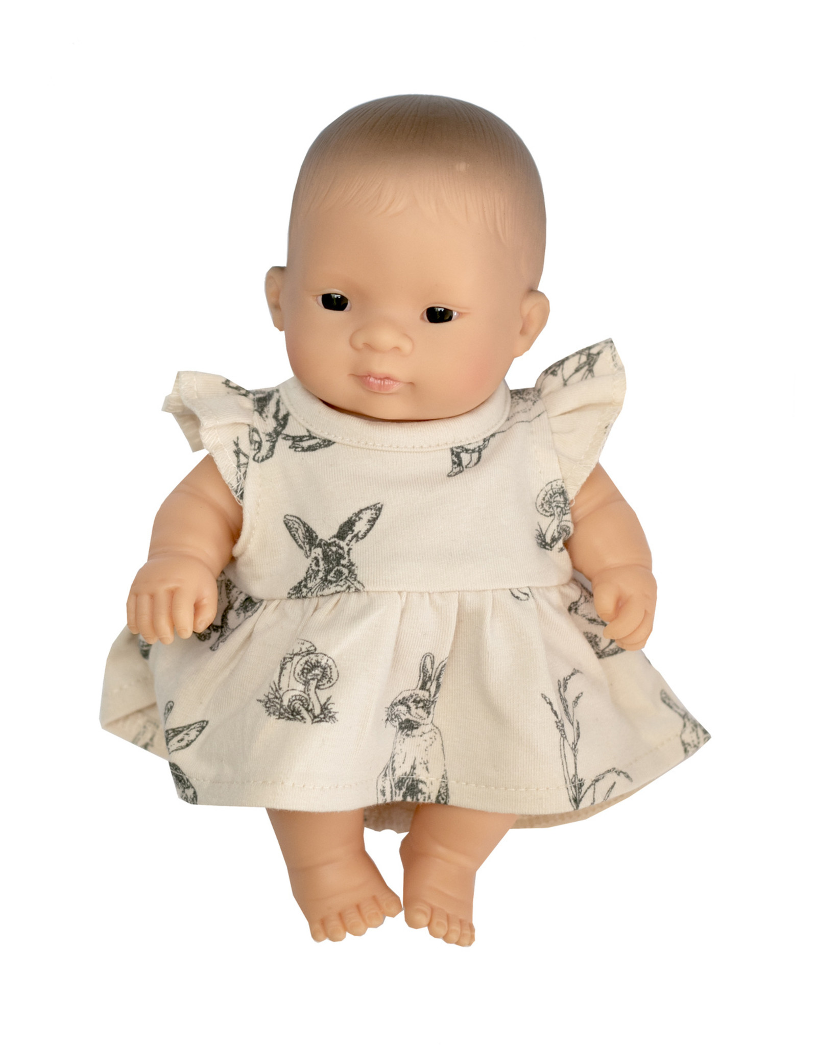 Burrow & Be Burrow & Be - Almond Burrowers Dolls Dress 21cm