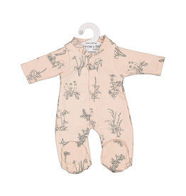 Burrow & Be Burrow & Be - Blush Meadows Dolls Jumpsuit 38cm