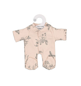 Burrow & Be Burrow & Be - Blush Meadows Dolls Jumpsuit 21cm