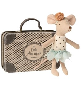 Maileg Maileg - Little Miss Mouse In Suitcase