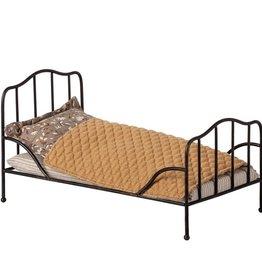 Maileg Maileg - Vintage Bed Mini Anthracite