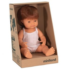 Miniland Miniland Doll - New Boy Red Head Pre Order Mid June