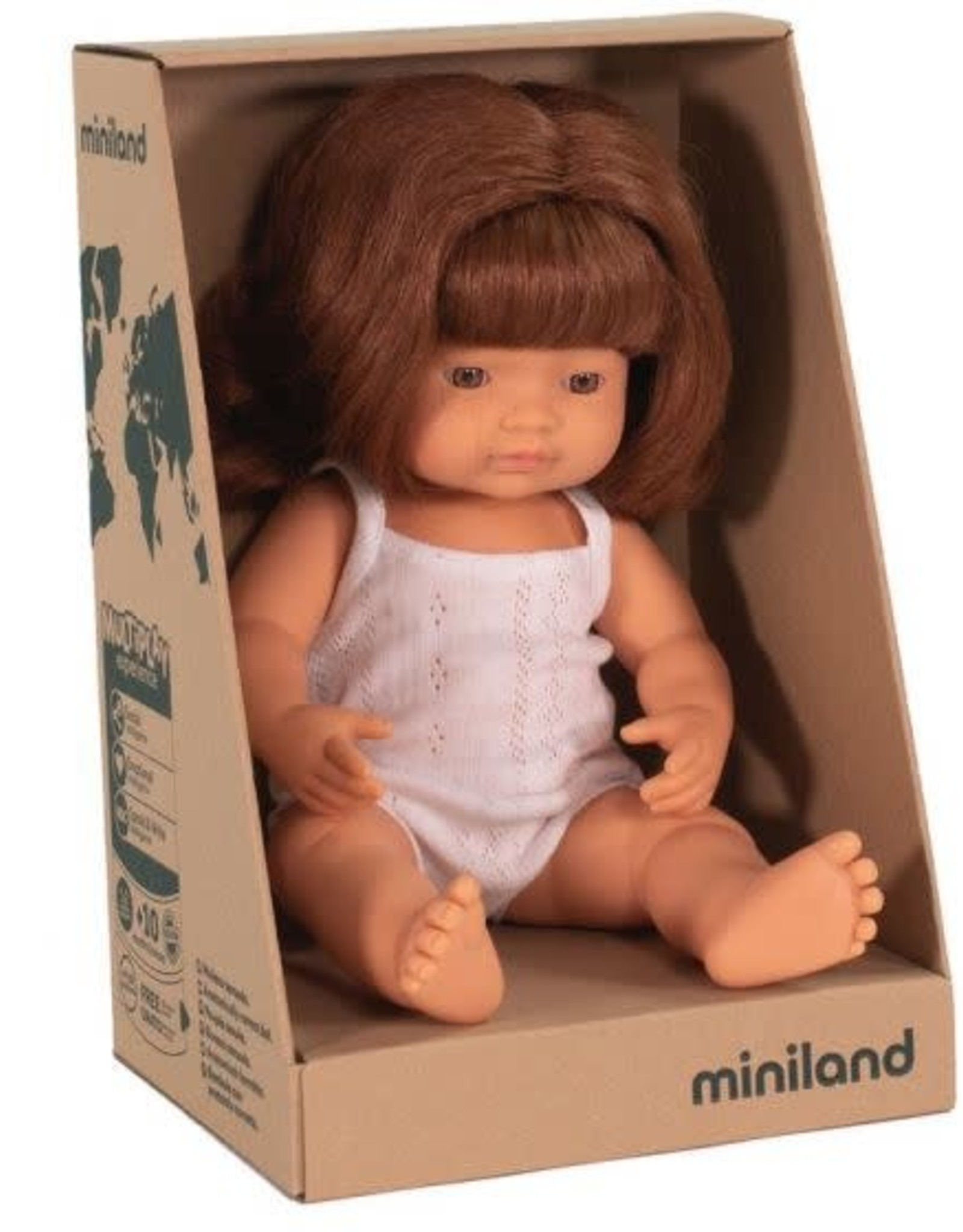 Miniland Miniland Doll - New Girl Red Hair