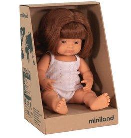 Miniland Miniland Doll - New Girl Red Hair Pre Order Mid June