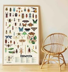 Poppik Poppik Sticker Poster - Insects