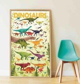 Poppik Poppik Sticker Poster - Dinosaurs
