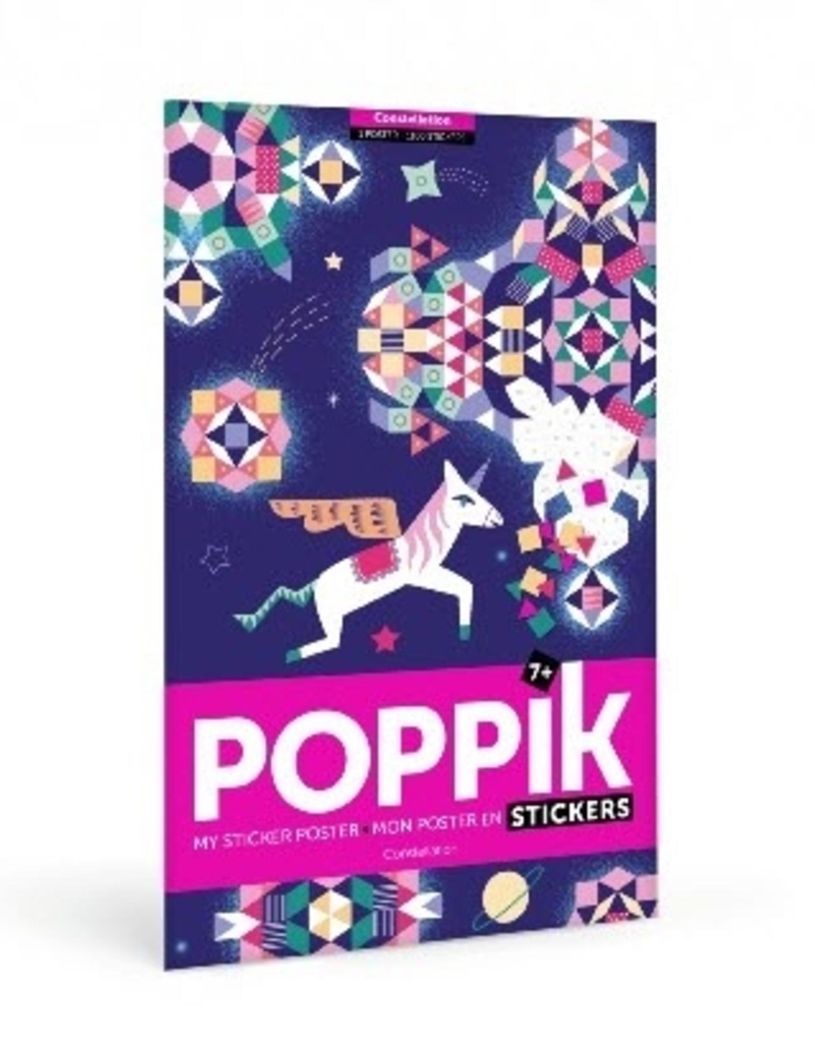 Poppik Poppik Sticker Poster - Constellation