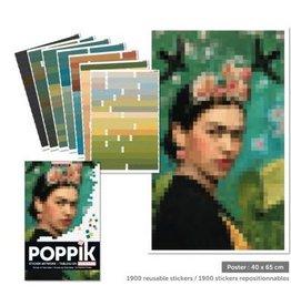 Poppik Poppik Sticker Poster - Frida Kahlo