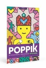 Poppik Poppik Sticker Poster - Pop Art