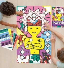 Poppik Poppik Sticker Poster - Pop Art