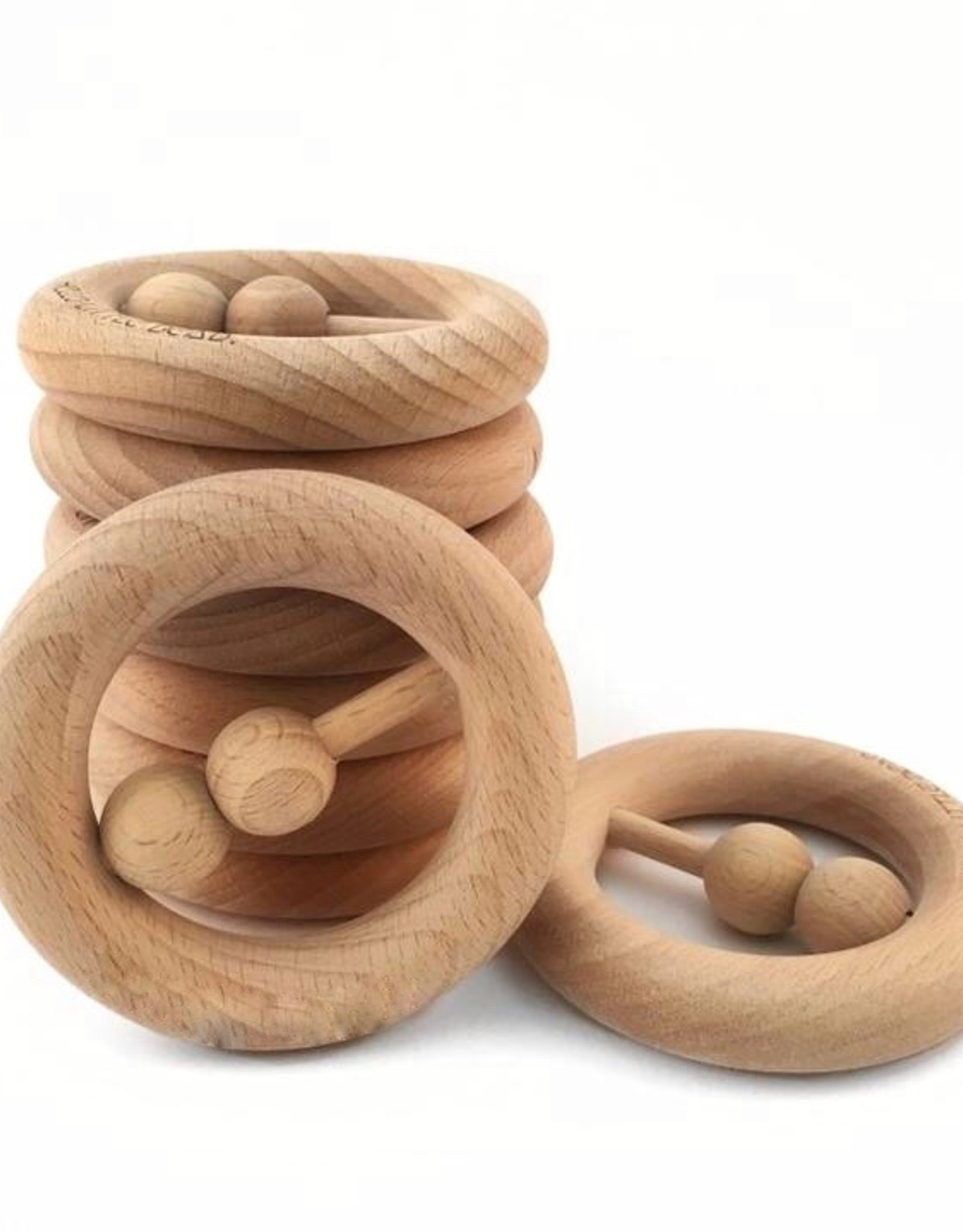 My Little Giggles My Little Giggles - Round Wooden Teether