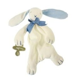 Maud N Lil - Oscar Bunny Comforter Blue/White