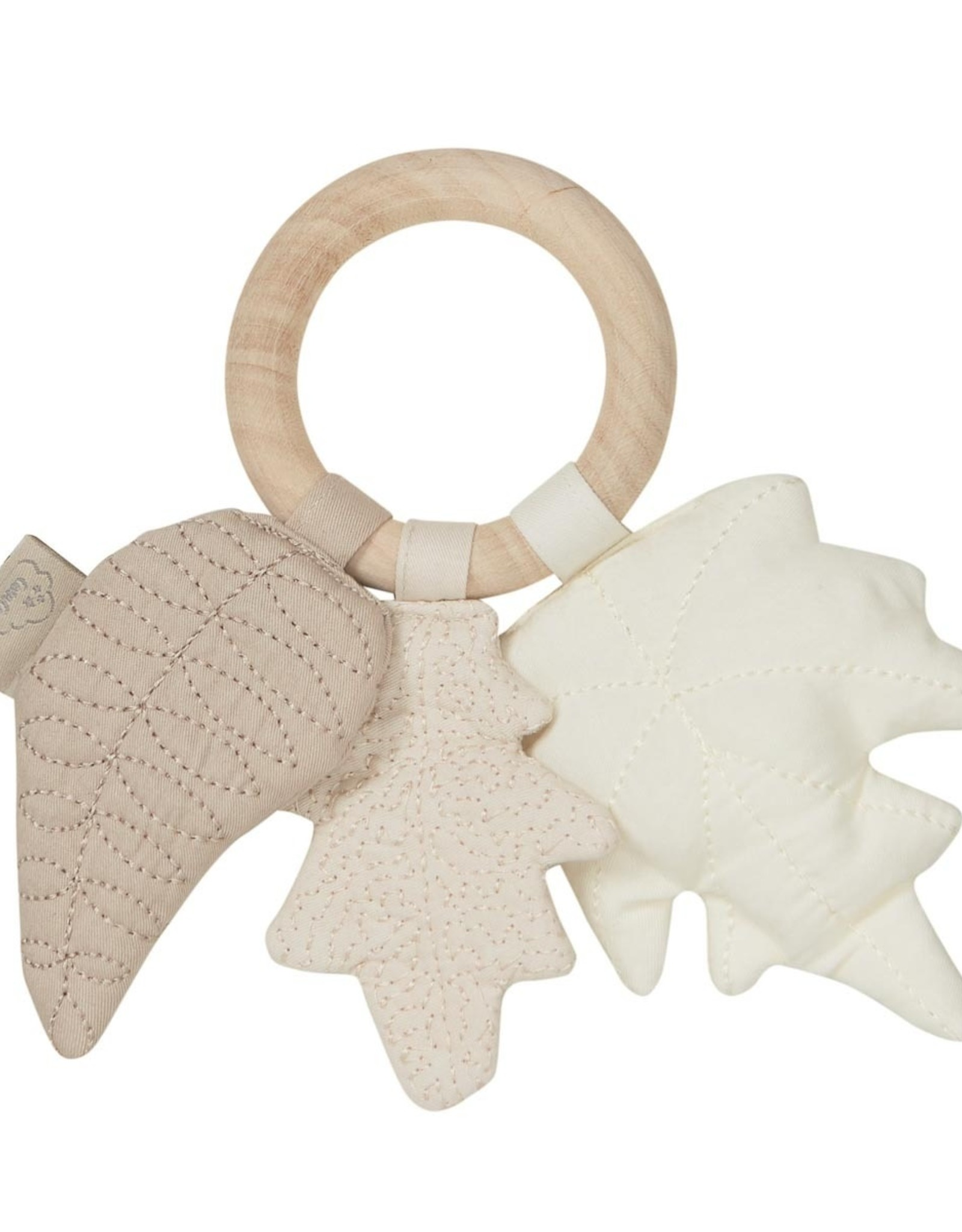 Cam Cam Cam Cam Copenhagen - Natural Leaves Rattle