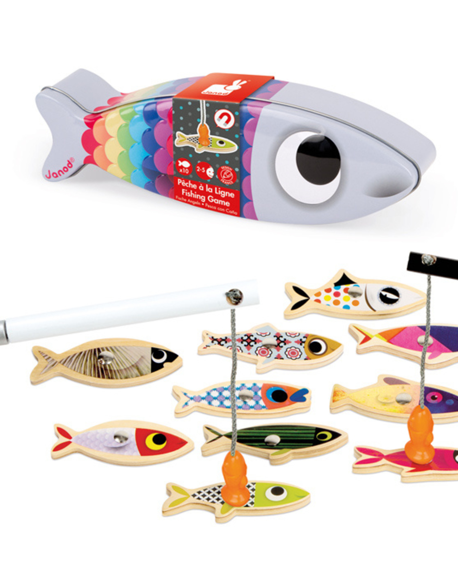 Janod Janod - Sardine Fishing Game