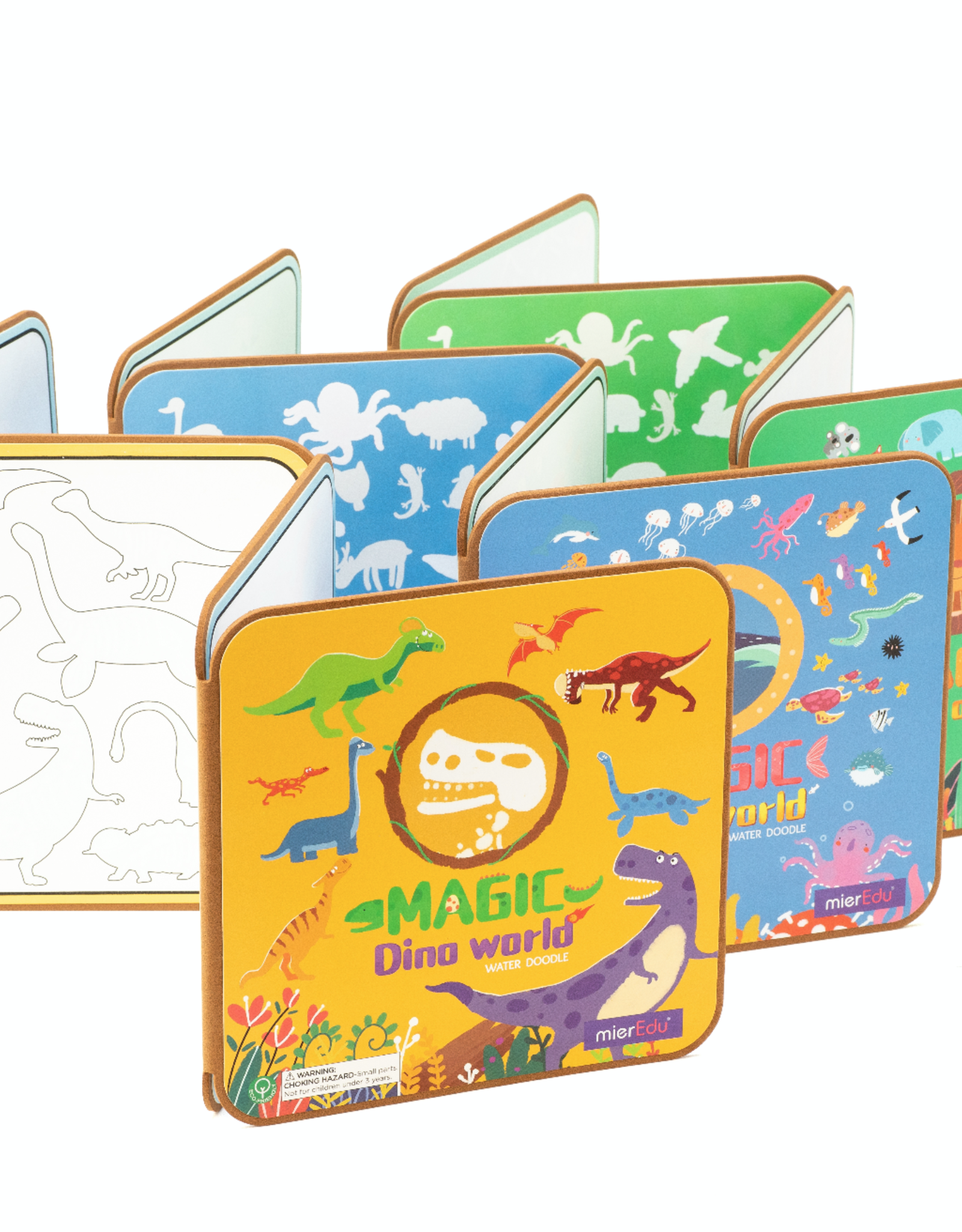 MierEDU Magic Water Doodle Book - Dino World