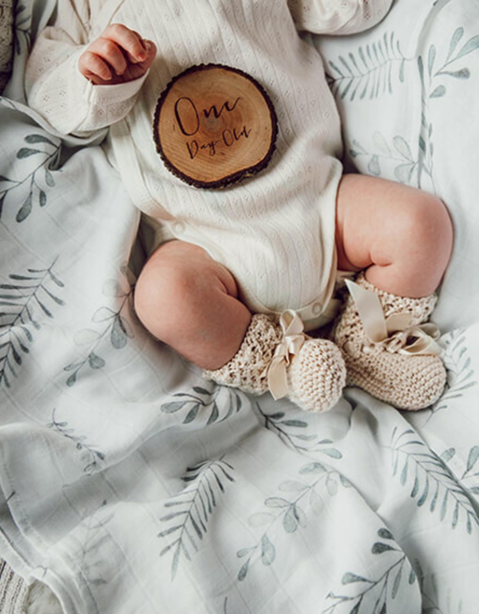 Snuggle Hunny Snuggle Hunny - Organic Muslin Wrap Wild Fern