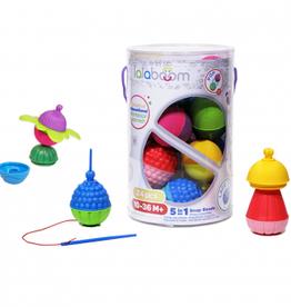 Lalaboom Lalaboom - Snap Beads 24 Pce