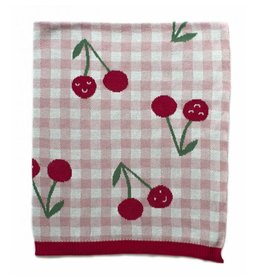 Indus Design Indus - Cheeky Cherries Blanket
