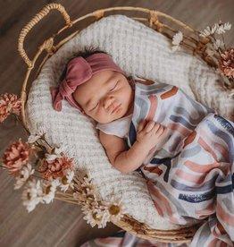 Snuggle Hunny - Organic Muslin Wrap Rainbow Baby