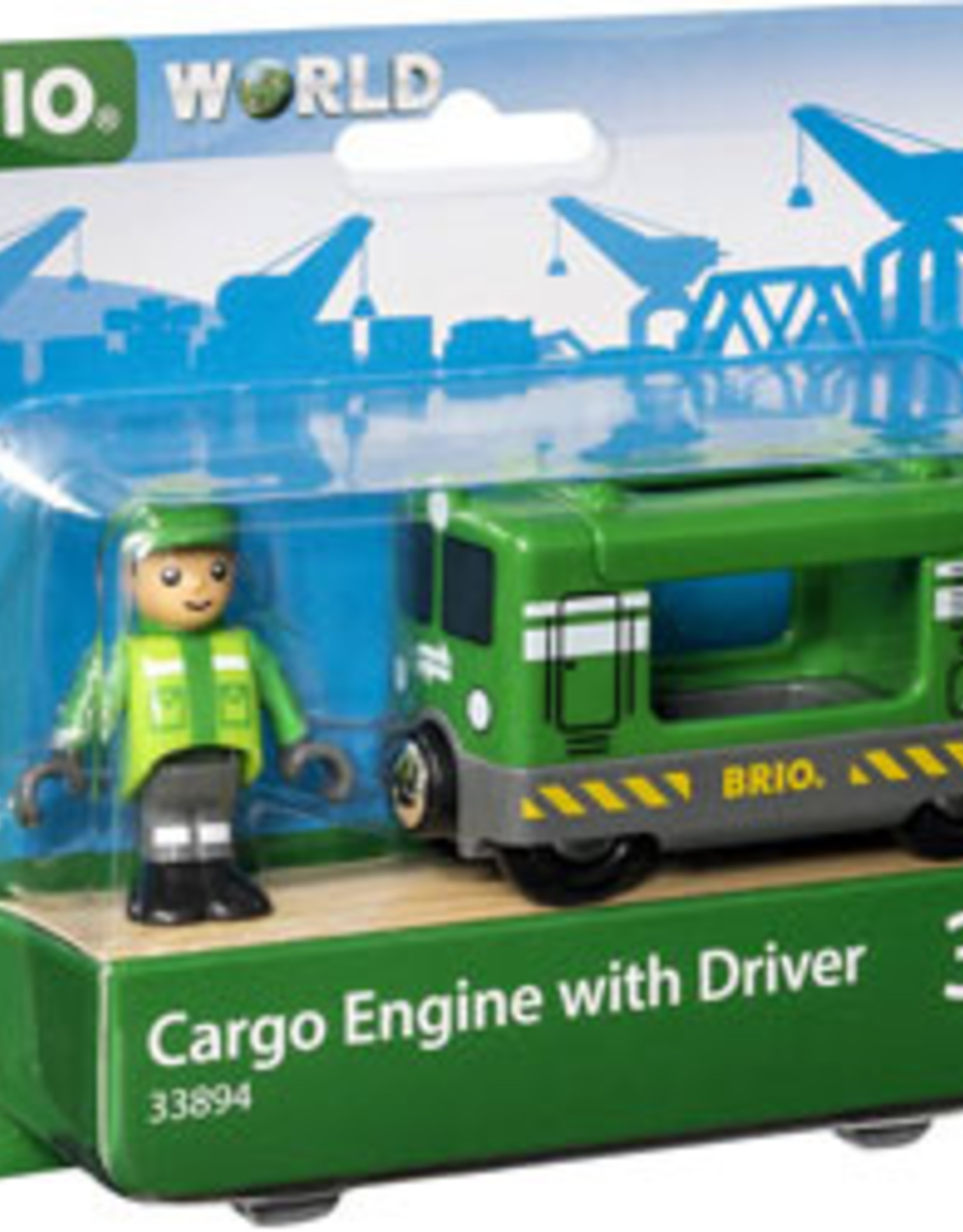 Brio Brio - Cargo Engine With Driver