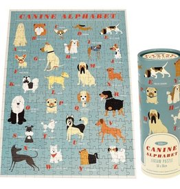 Rex Puzzle -Canine Alphabet Jigsaw Puzzle 300pce