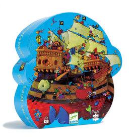 Djeco Djeco - Barbarossa's Boat Puzzle 54pce