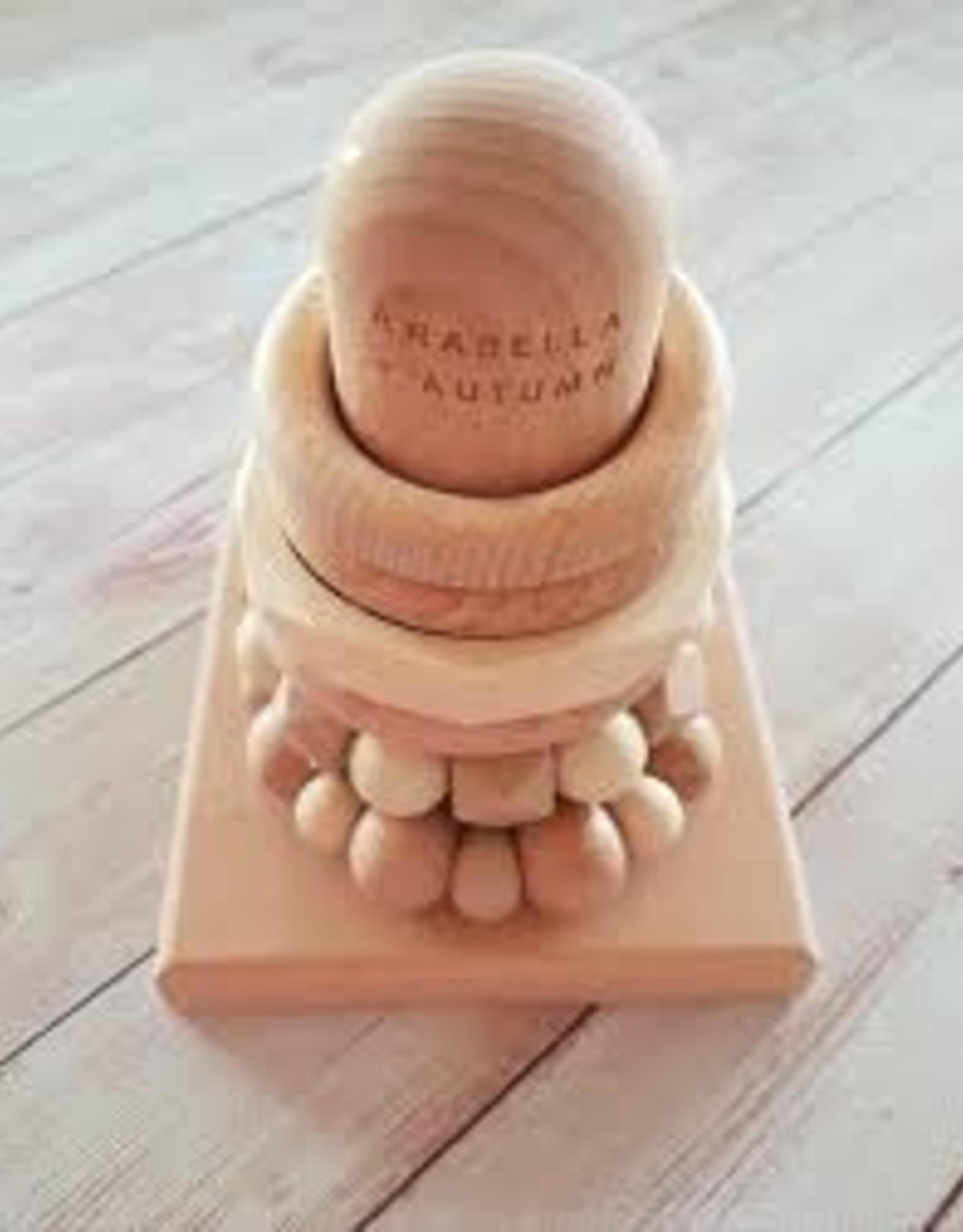 Arabella & Autumn Arabella & Autumn - Teething Stacker Natural