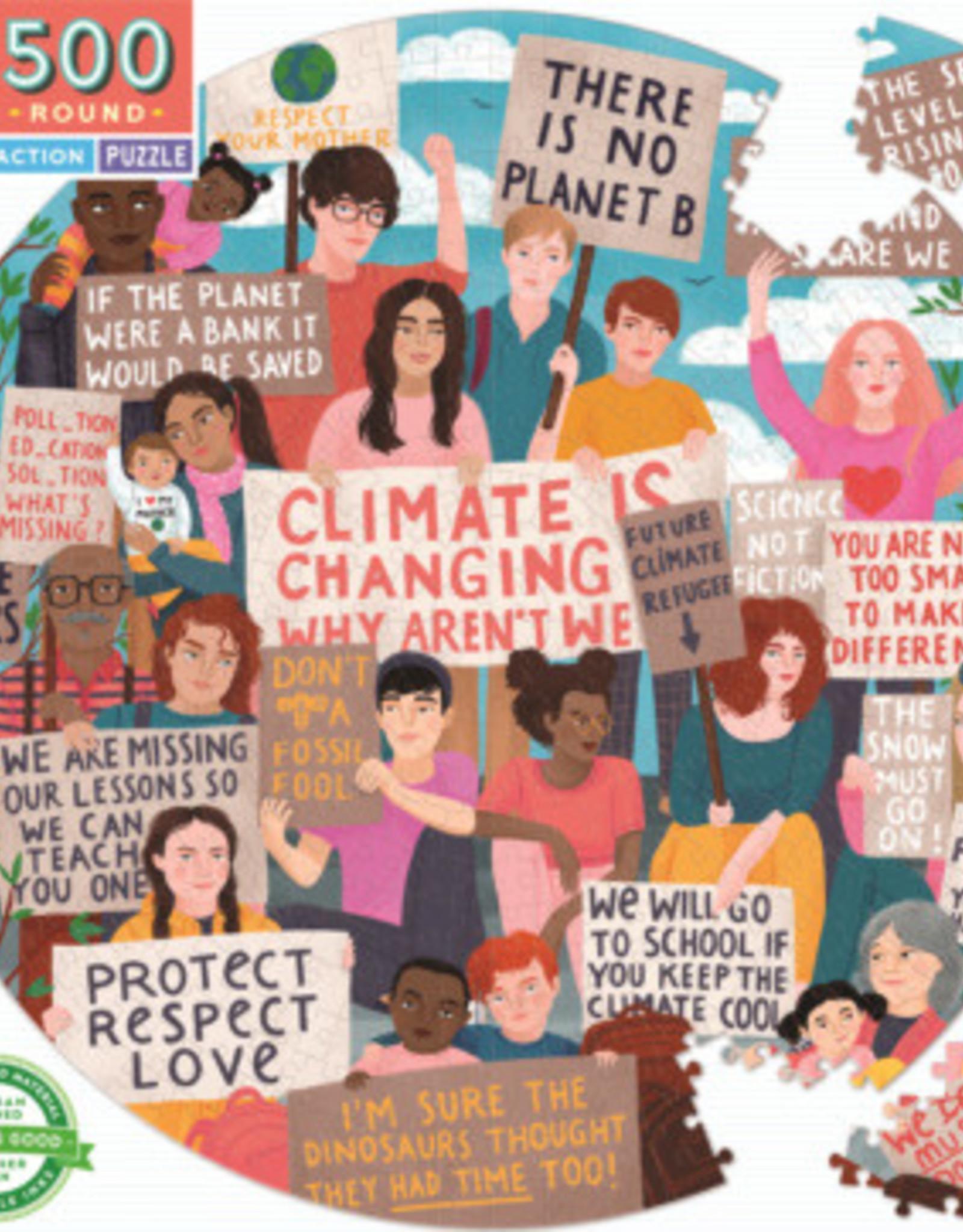 Eeboo Eeboo - Climate Action Puzzle 500pce
