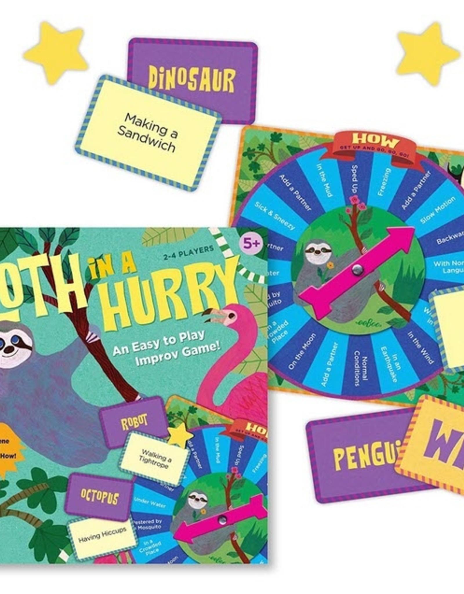 Eeboo Eeboo - Sloth In A Hurry Game