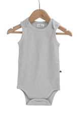 Burrow & Be Burrow & Be - Singlet Onesie Grey Size 0
