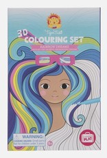 Tiger Tribe Tiger Tribe - 3D Colouring Set Rainbow Dreams
