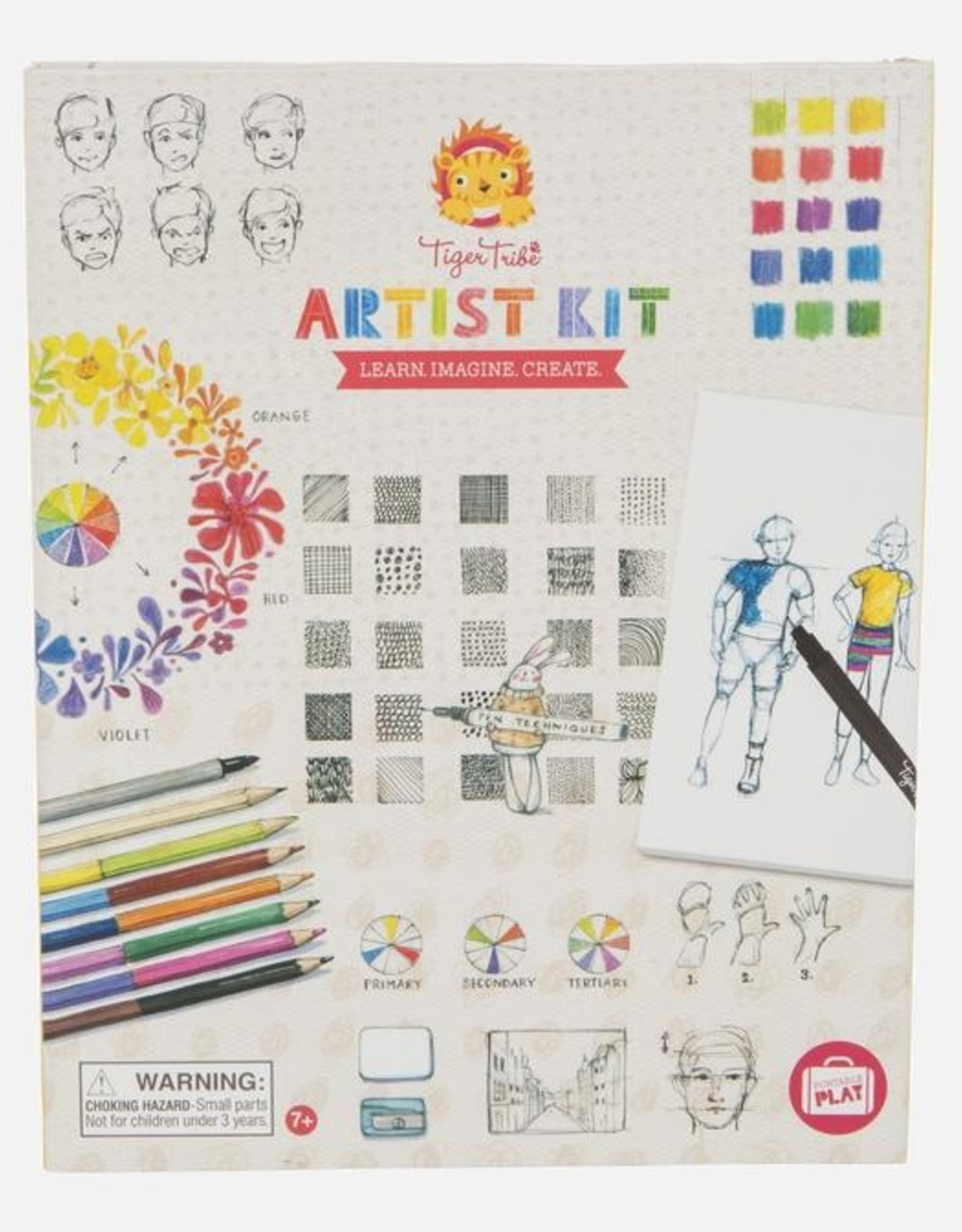 Tiger Tribe Tiger Tribe - Artists Kit (Learn, Imagine, Create)