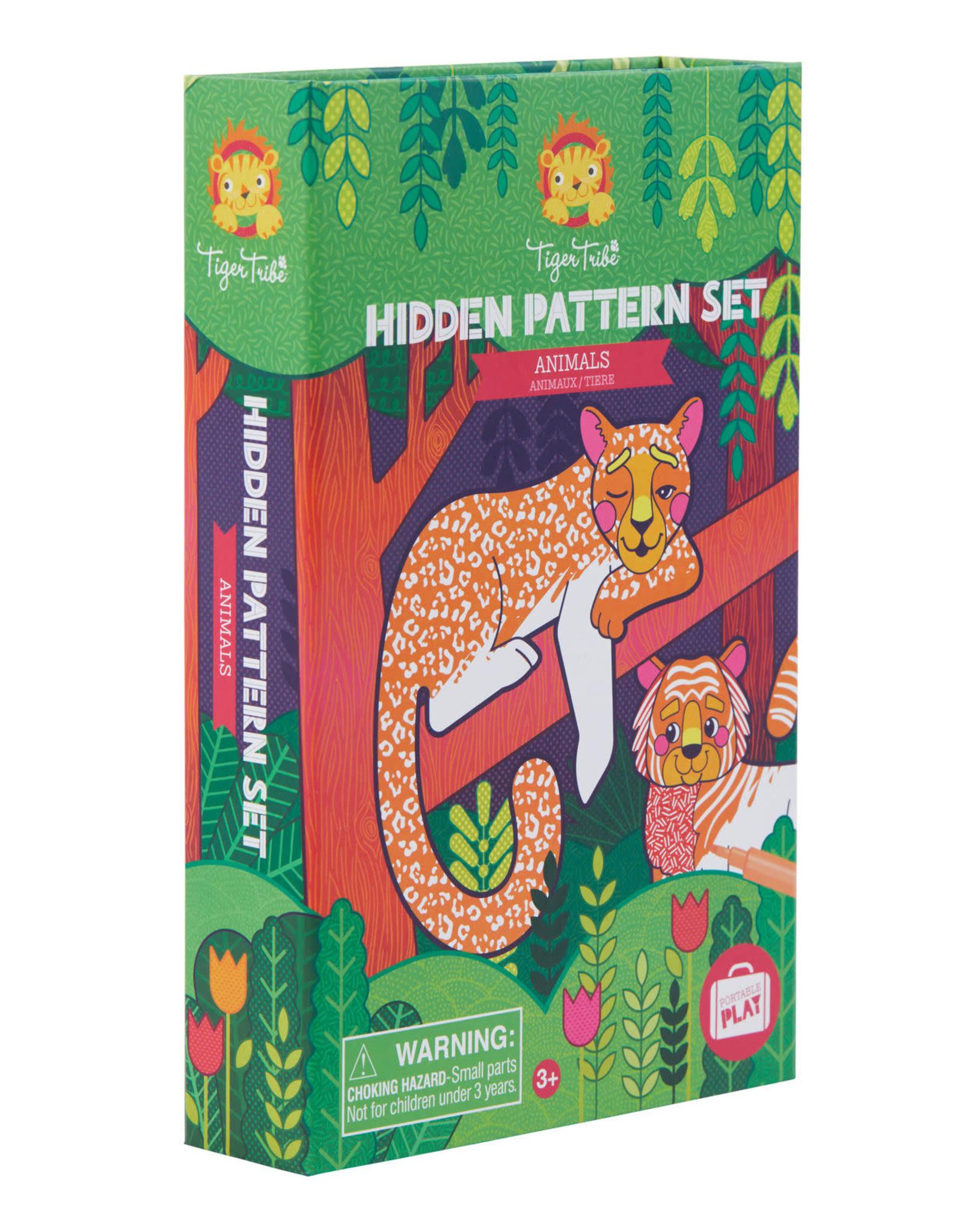 Tiger Tribe Tiger Tribe - Hidden Pattern Set Animals