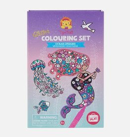 Tiger Tribe Tiger Tribe - Glitter Colouring Set Ocean Dreams