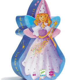 Djeco Djeco - Fairy And Unicorn Puzzle 36pc
