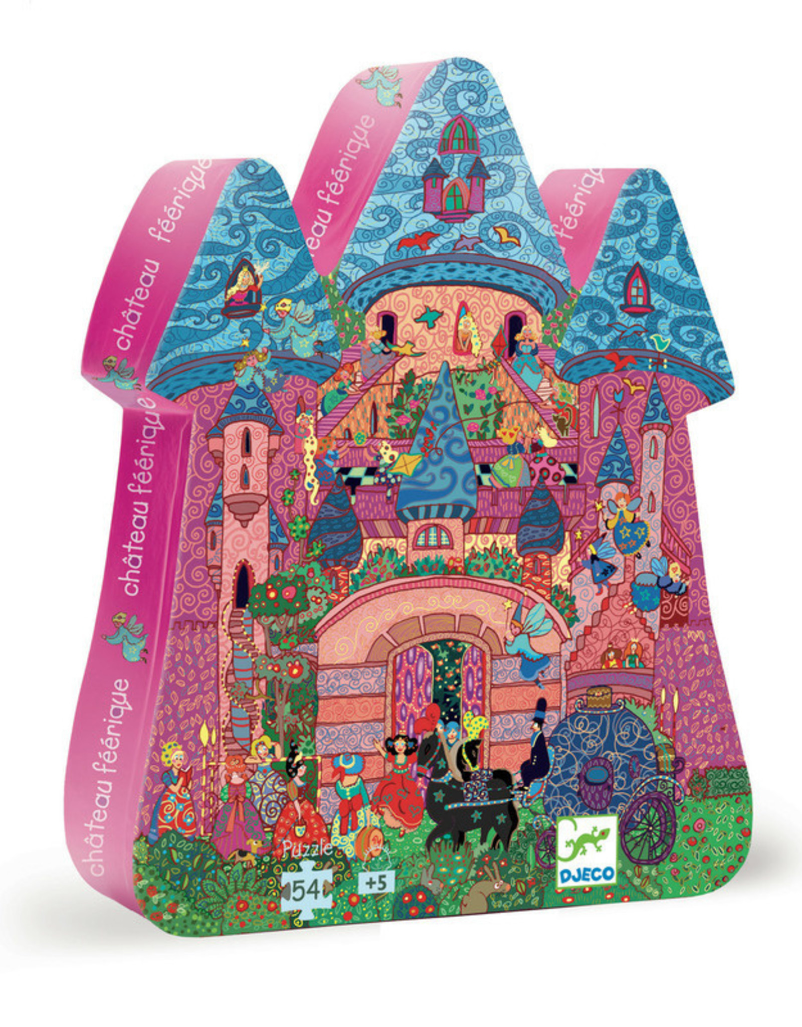 Djeco Djeco - Fortified Castle Puzzle 54pce