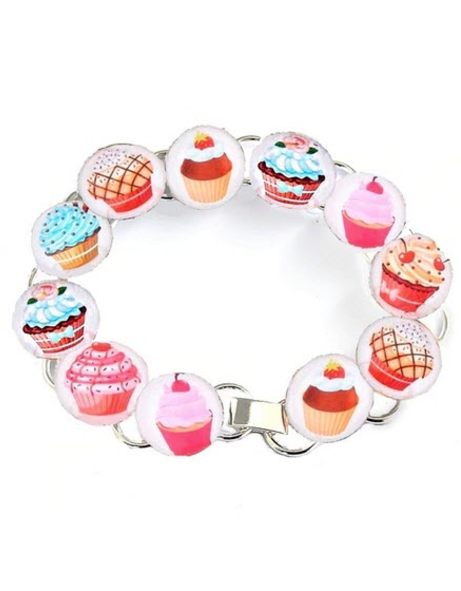 Huckleberry Huckleberry - Bracelet Set Cupcakes