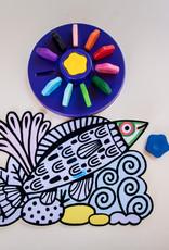 Djeco Djeco - Color Crayons Flower