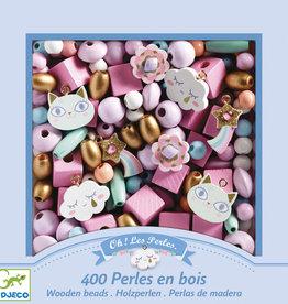 Djeco Djeco - Rainbow Wooden Beads