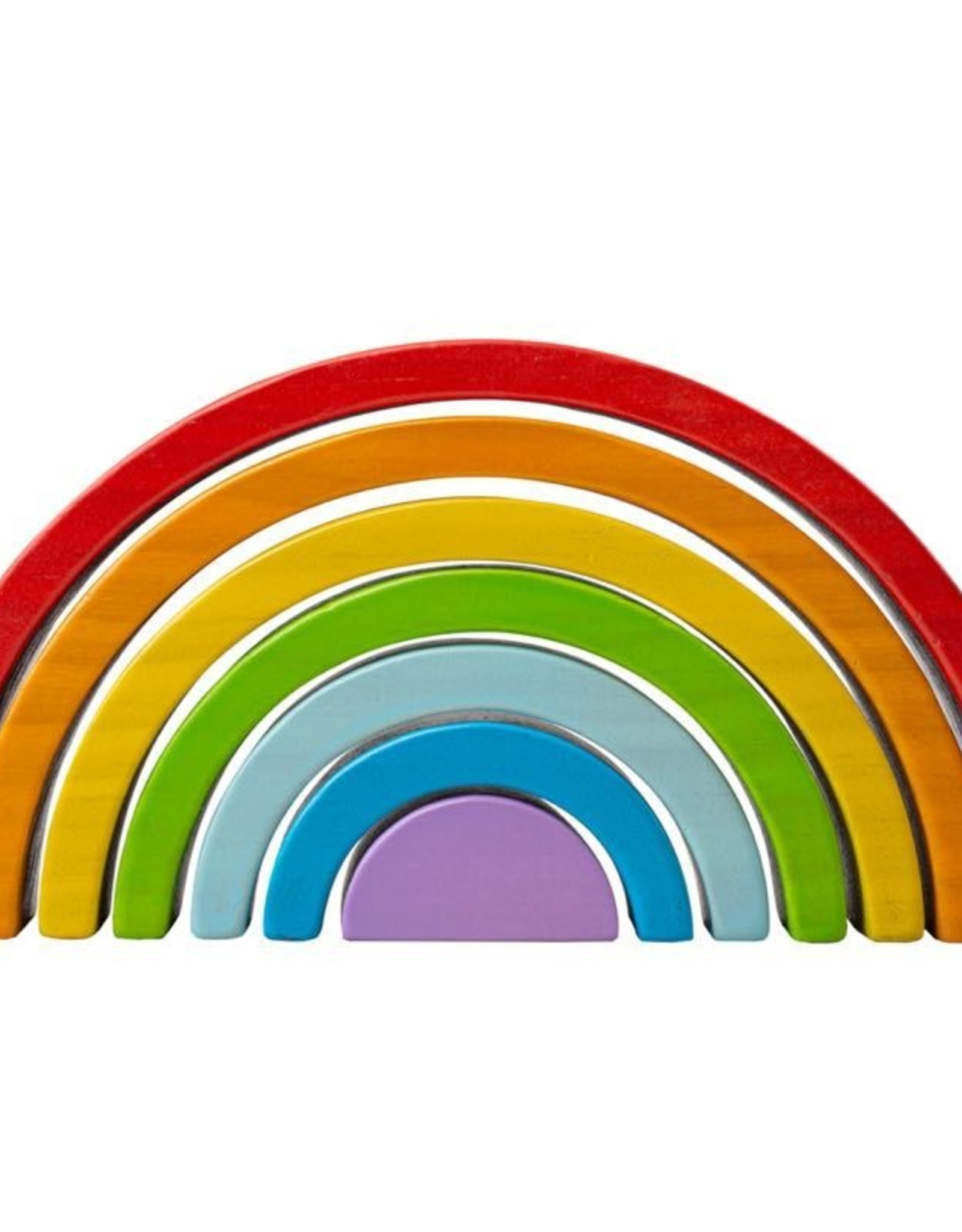 Big Jigs Wooden Stacking  Rainbow - Small