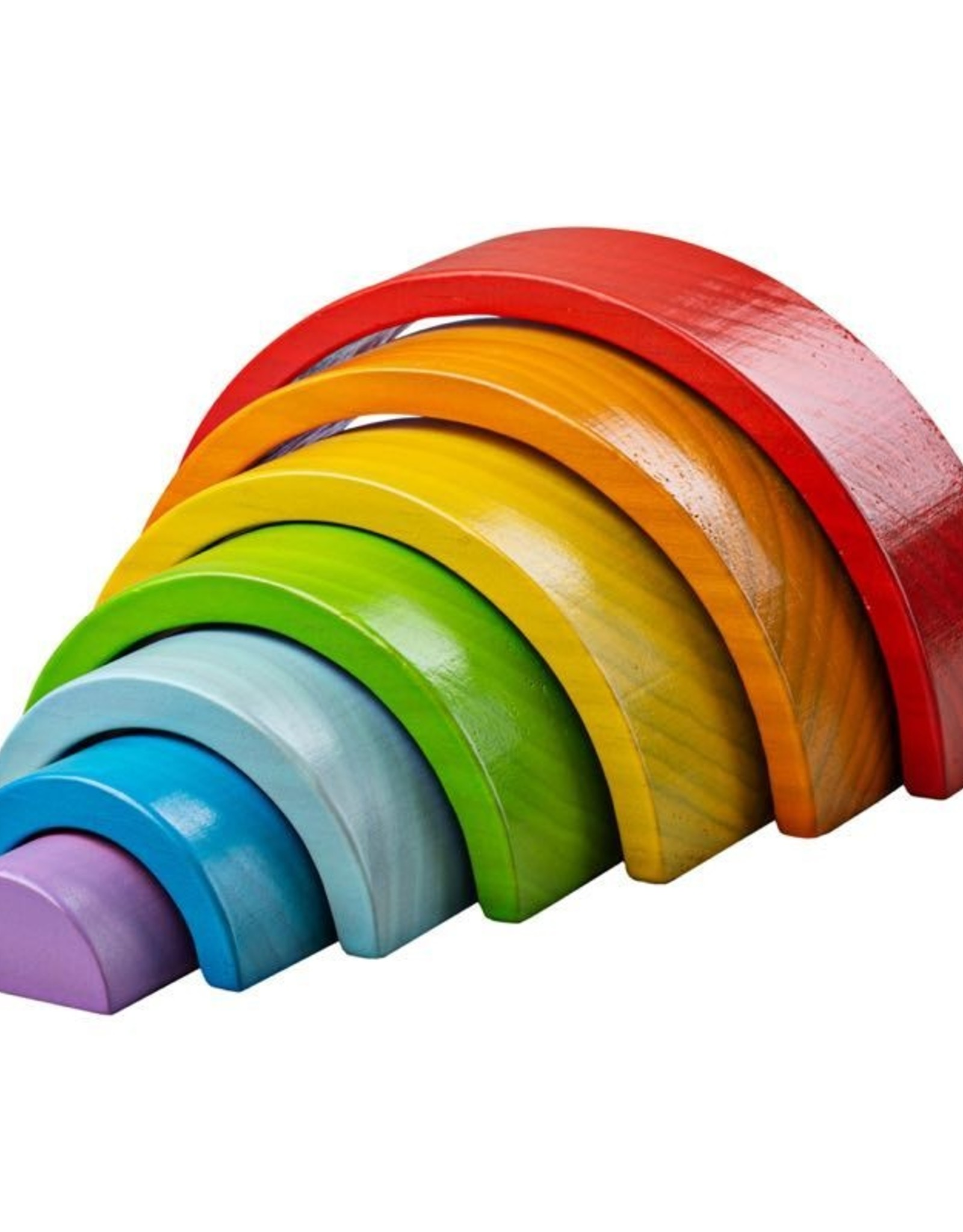 Wooden Stacking  Rainbow - Small