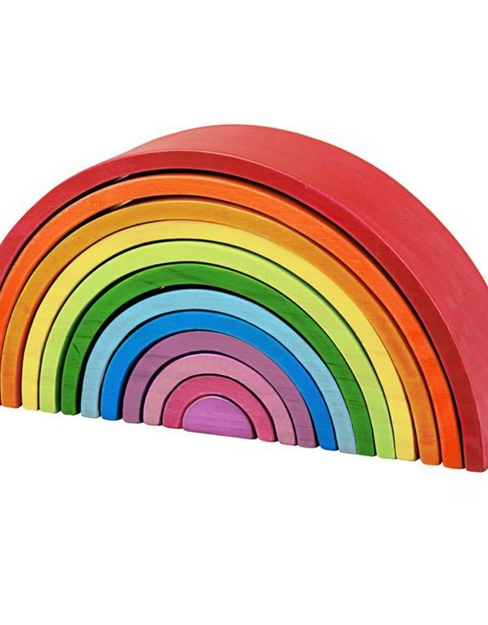 Big Jigs Wooden Stacking Rainbow - Large