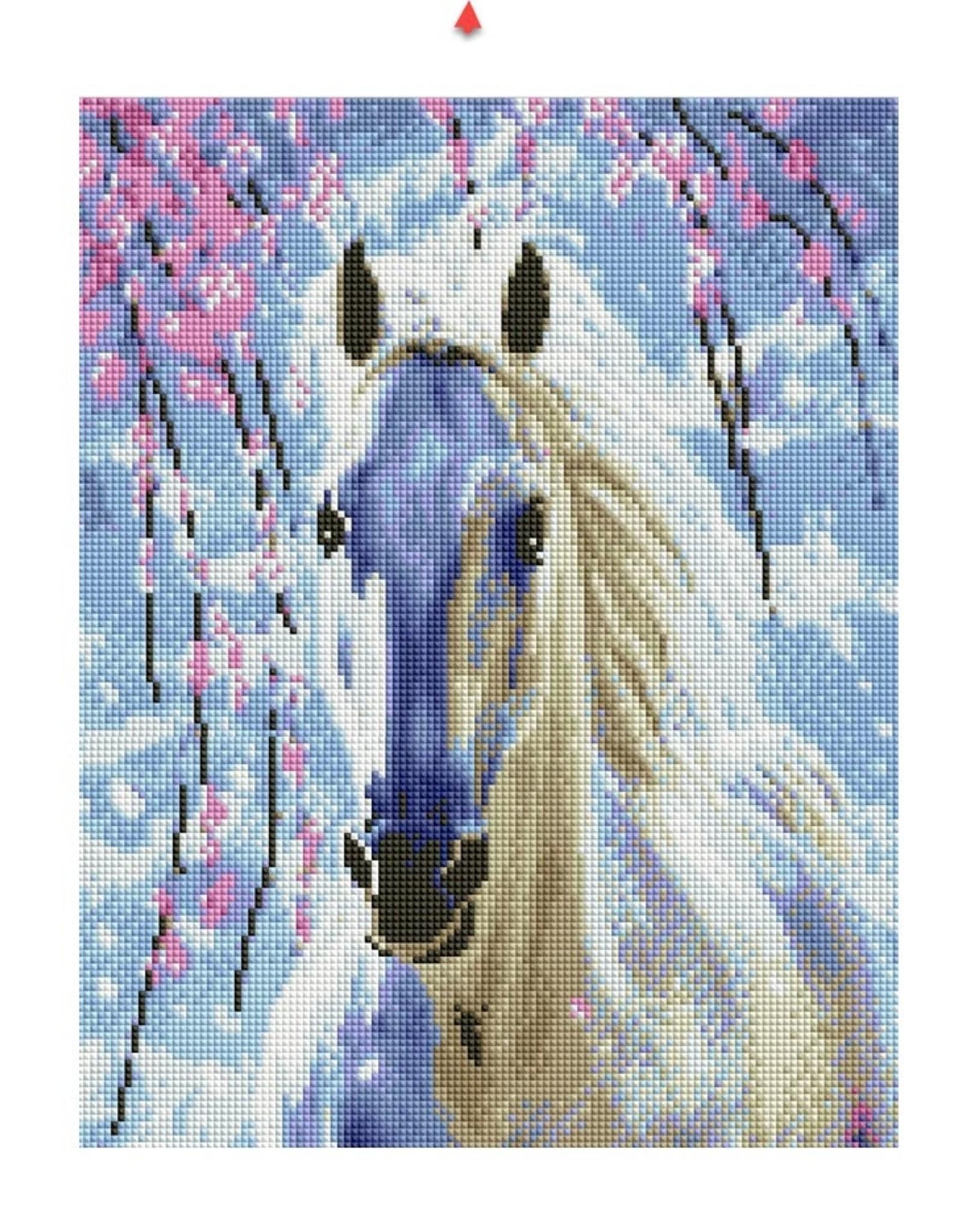 Kaisercraft Kaiser Sparkle - White Horse Large