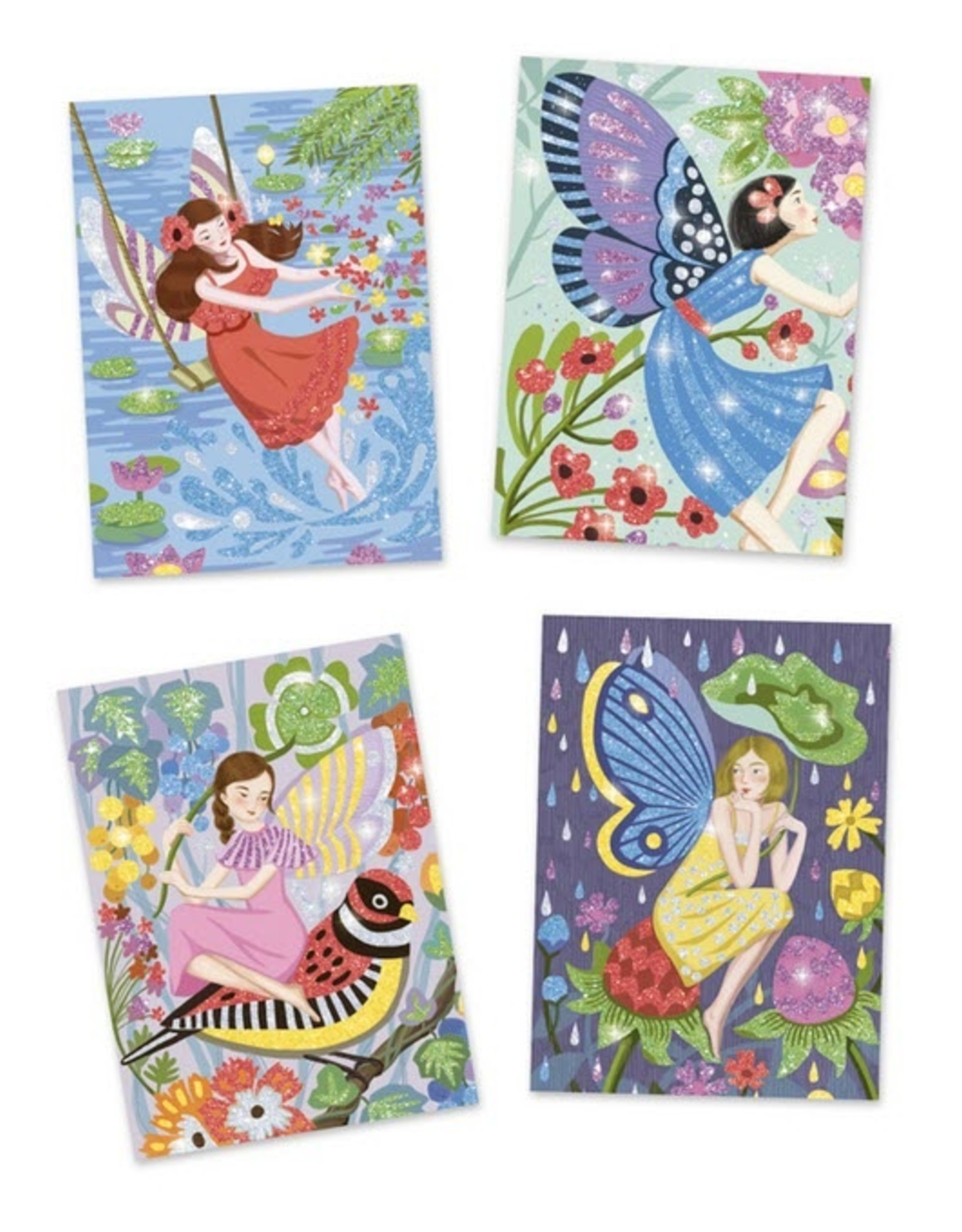 Djeco Djeco - The Gentle Life of Fairies Glitter Boards