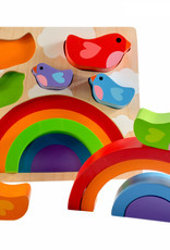 Kiddie Conect Kiddie Connect - Bird And Rainbow Puzzle
