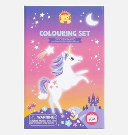 Tiger Tribe Tiger Tribe - Colouring Set Unicorn Magic