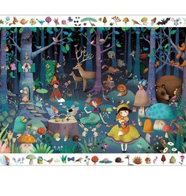 Djeco Djeco Observation Puzzle Enchanted Forest 100pce