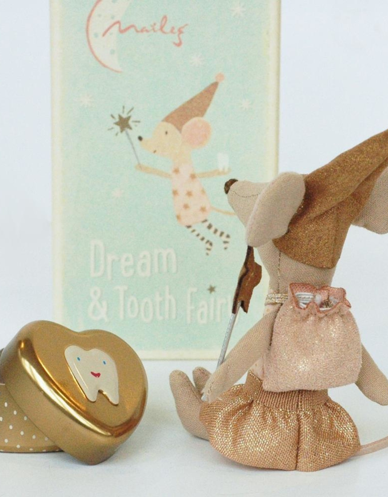 Maileg Maileg - Tooth Fairy Big Sister With Tin (New)
