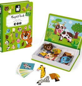 Janod Janod - Animals Magnetic Book