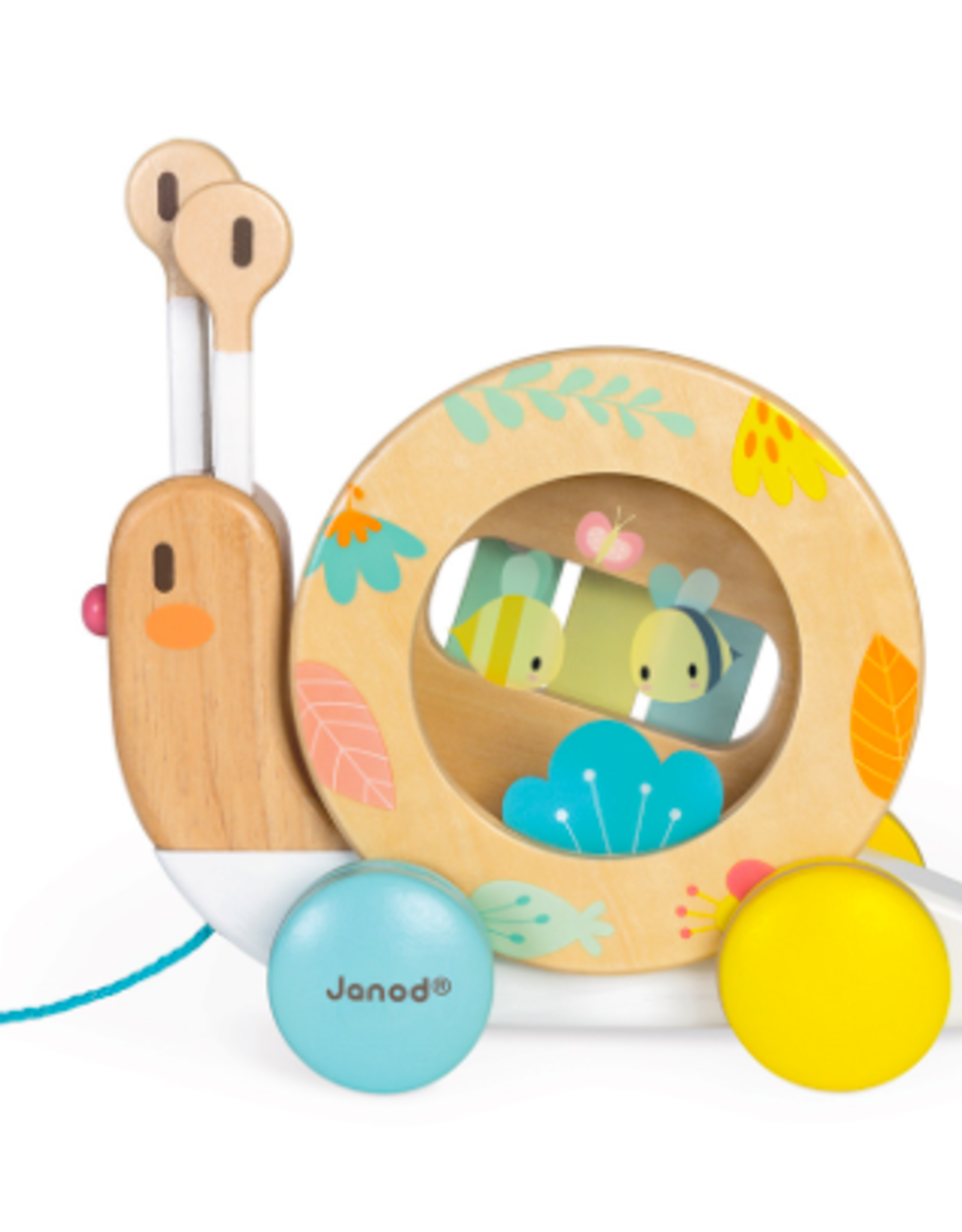 Janod Janod - Pull Along Snail
